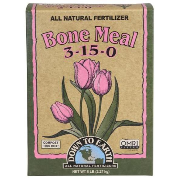 Down To Earth Bone Meal - 5LB
