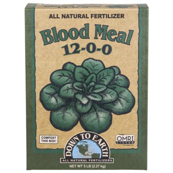 Down To Earth Blood Meal - 5LB