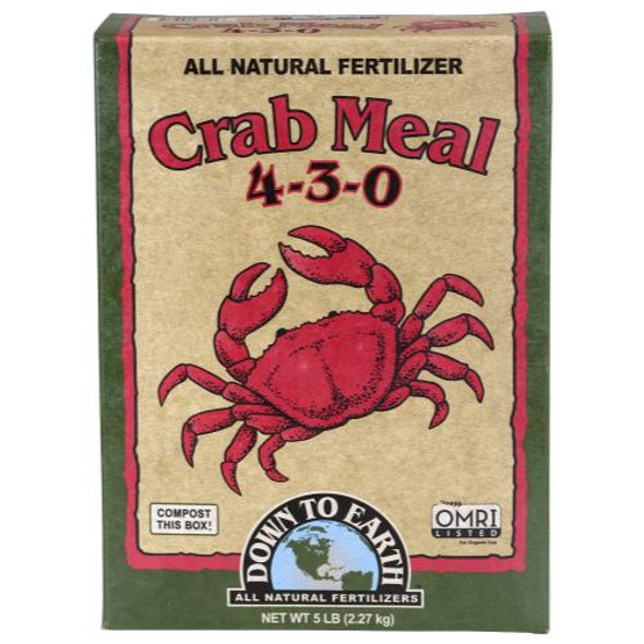 Down To Earth Crab Meal - 5LB