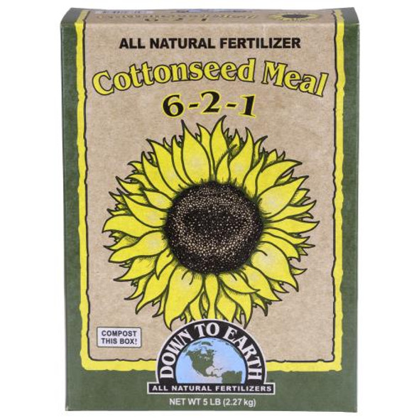 Down To Earth Cottonseed Meal - 6LB