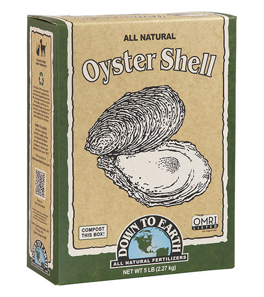 Down To Earth Oyster Shell - 5LB
