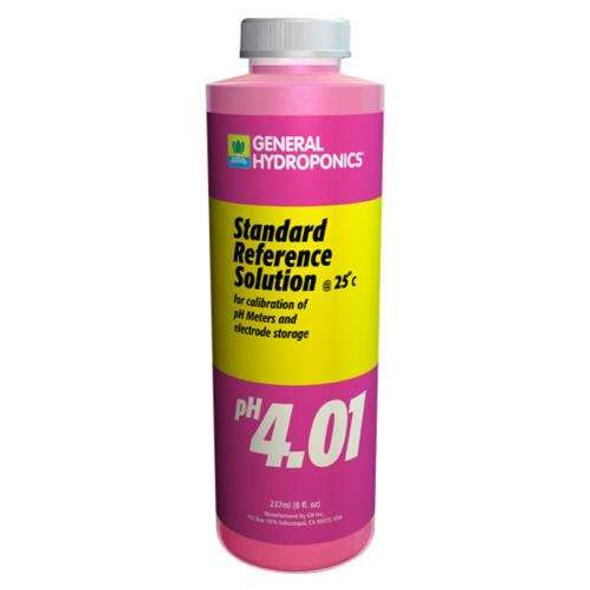 GH pH 4.01 Calibration Solution - 8OZ