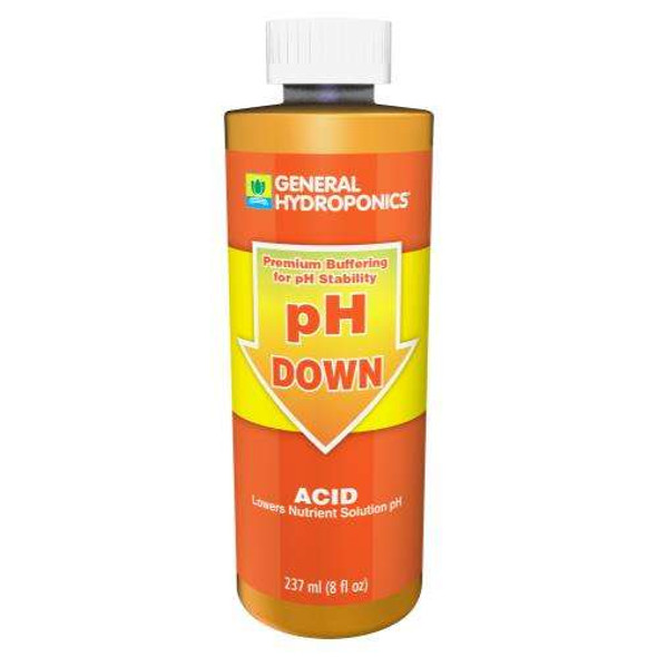 GH pH Down Liquid - 8OZ
