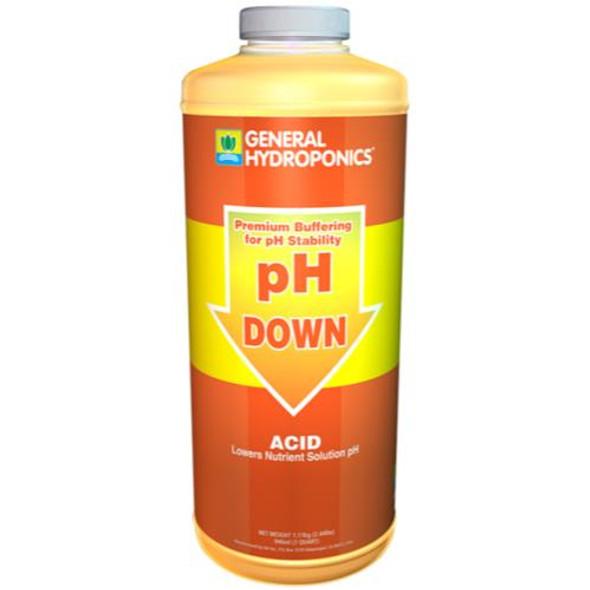 GH pH Down Liquid - 1 QT
