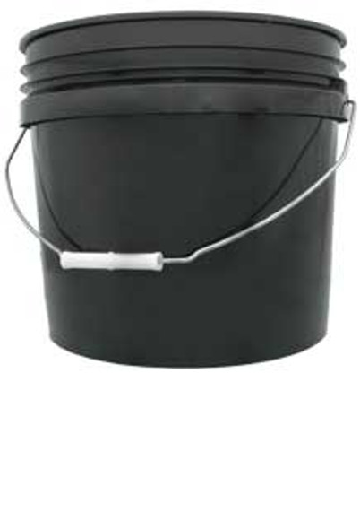 Black Bucket Food Grade - 3 GAL