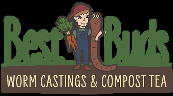 Best Buds Worm Castings - 2 Qt