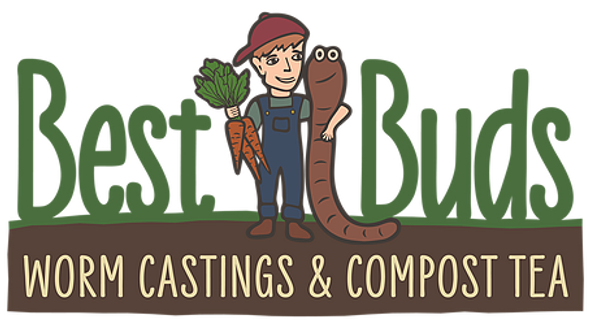 Best Buds Worm Castings - 2 Gal