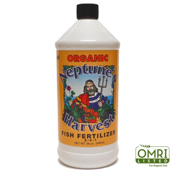 Neptunes Harvest Fish Fertilizer (Orange) - 1 QT