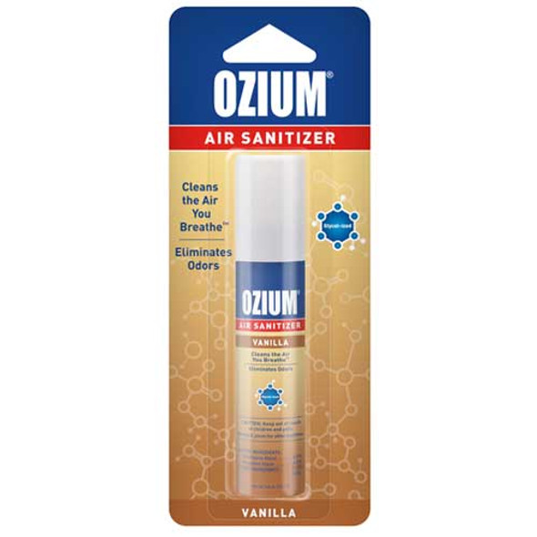 Ozium Air Sanitizer Spray 0.08 OZ -Vanilla