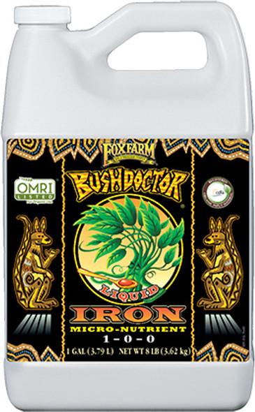 FoxFarm Bush Doctor Liquid Iron - 1 Gal
