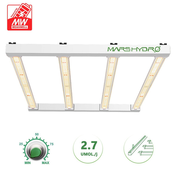 MARS HYDRO FC-E3000LED 300W LED GROW LIGHT FOR INDOOR PLANTS FULL SPECTRUM