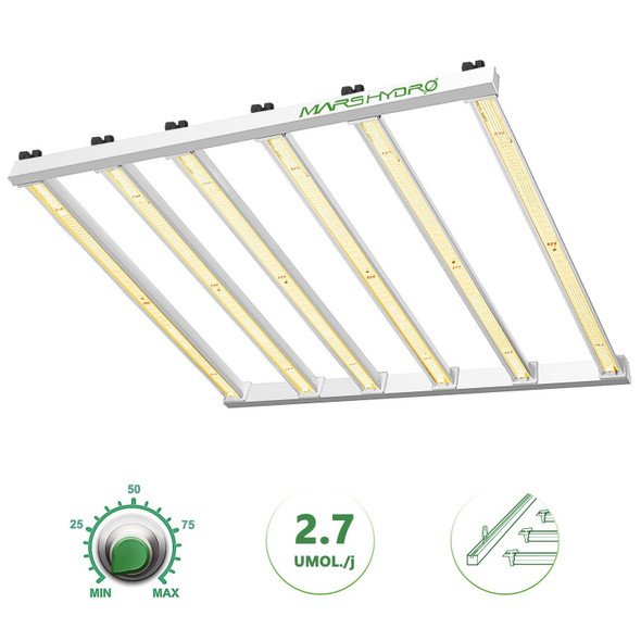 MARS HYDRO FC-E6500 650W COMMERCIAL LED GROW LIGHT FOR INDOOR PLANTS