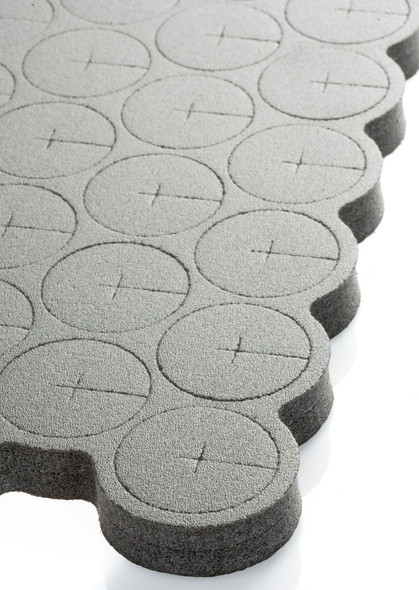 EZ-Clone Hard Cloning Collars black - Pack of 35