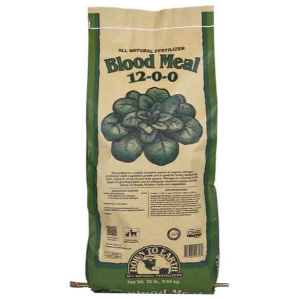 Down To Earth Blood Meal - 20LB
