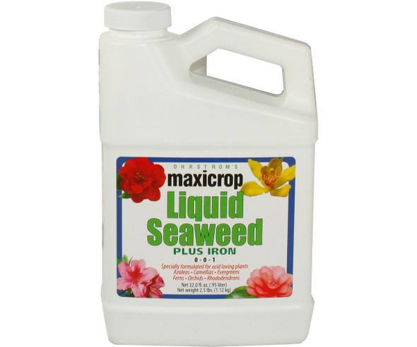 MaxiCrop Liquid Seaweed PLUS IRON - 1QT