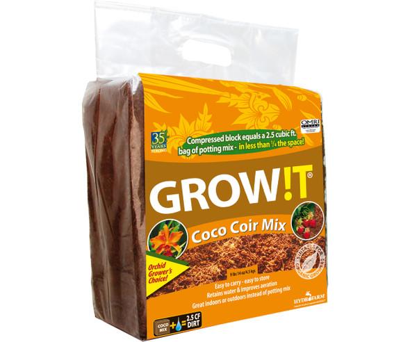 GROW!T Organic Coco Coir Mix - Block