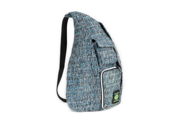 Dime Bags Slinger Backpack - BLUE/GREEN