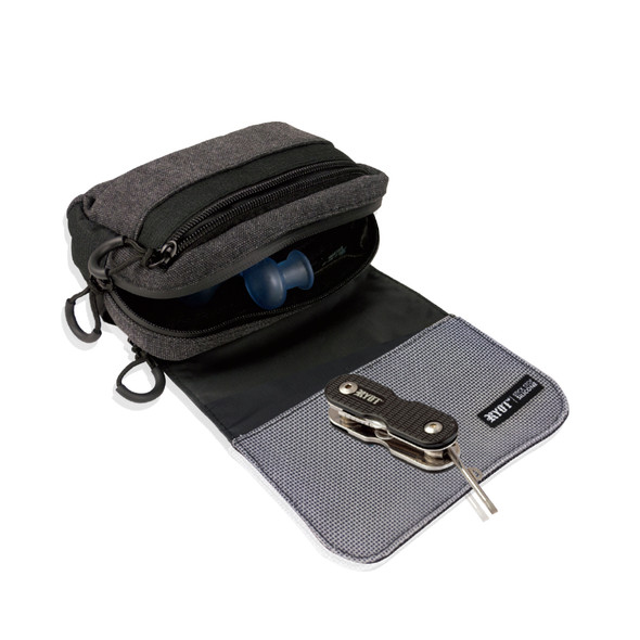 RYOT PIPER POUCH - CARBON