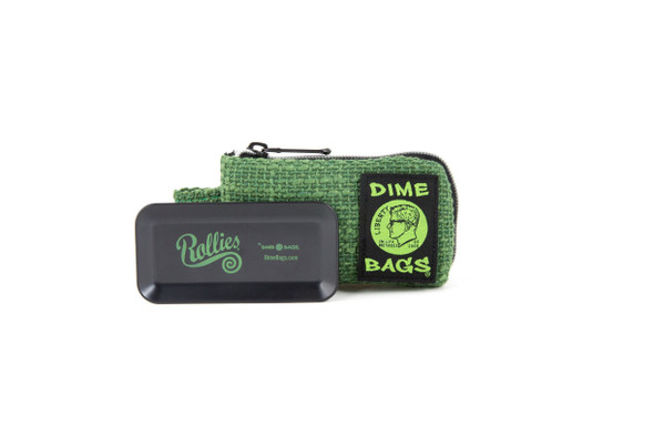 Dime Bags SMALL - DARK GREEN