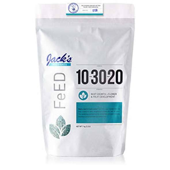 Jack's Nutrients 10-30-20 Bloom 1kg 2.2LB