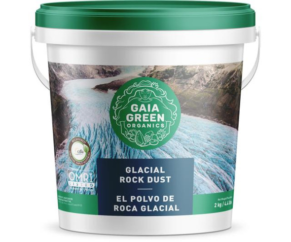 Gaia Green Glacial Rock Dust - 2 kg