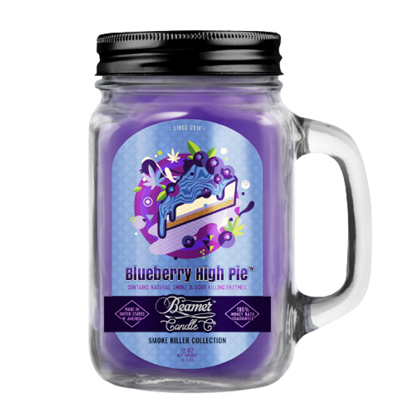 BEAMER CANDLE CO - BLUEBERRY HIGH PIE 12OZ