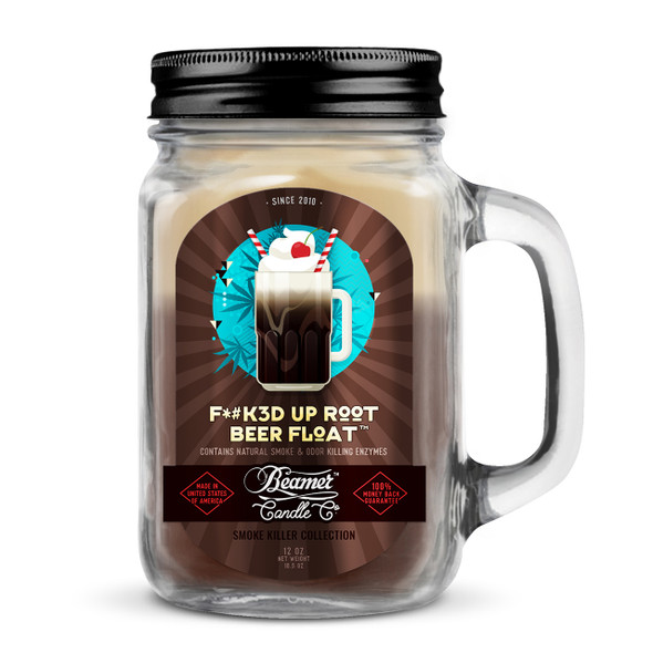 BEAMER CANDLE CO - ROOT BEER FLOAT 12OZ