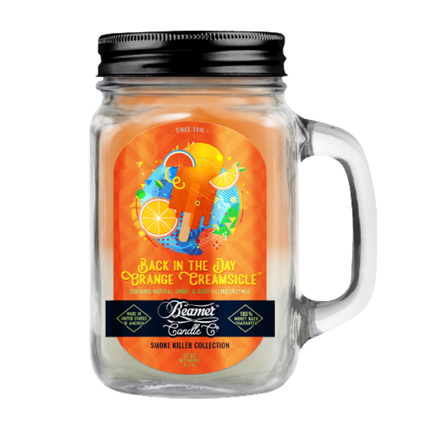 BEAMER CANDLE CO - BACK IN THE DAY ORANGE CREAMSICLE 12OZ