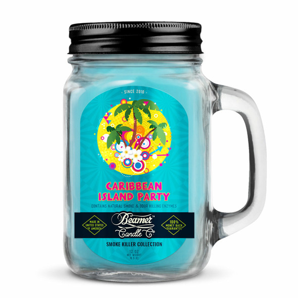 BEAMER CANDLE CO - CARRIBEAN ISLAND PARTY 12OZ