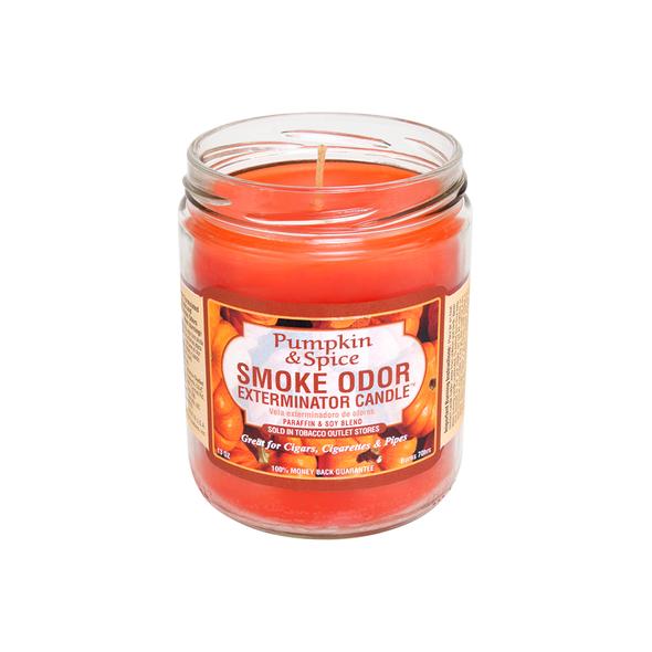 SMOKE ODOR CANDLE - PUMPKIN SPICE
