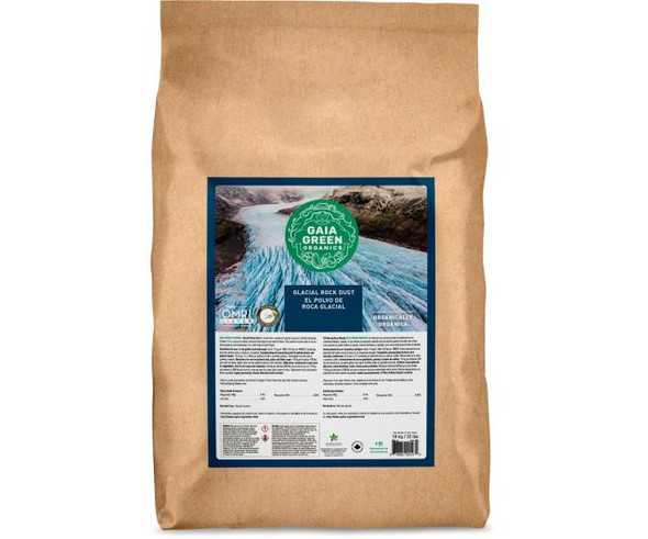 Gaia Green Glacial Rock Dust - 10 kg