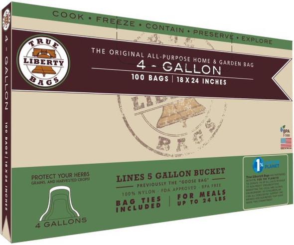 True Liberty Goose Bags  4 Gallon - 100 Pack