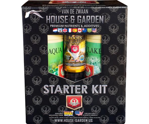 House & Garden Aqua Flakes Starter Kit