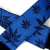 Blue Legalize Slider Style Guitar Strap w/Black Nylon Backing
