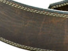 """2.5"""" Antique Distressed Leather Guitar Strap"""