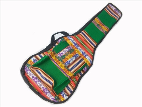 Uke Bag - Concert - Full Face Peruvian Cloth 6
