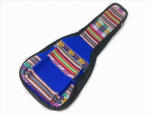 Uke Bag - Concert - Full Face Peruvian Cloth