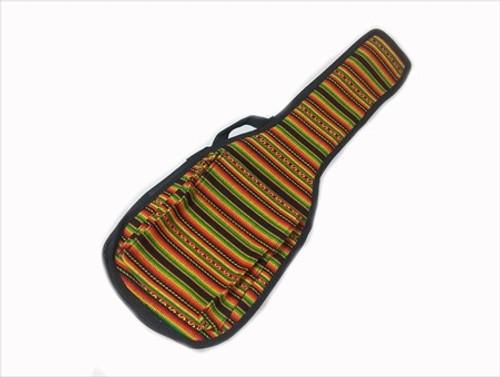 Uke Bag - Soprano - Full Face Peruvian Cloth 5