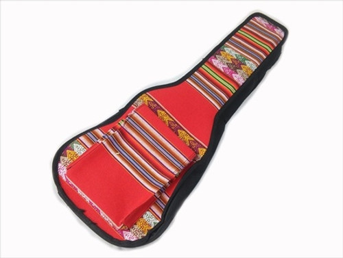 Uke Bag - Soprano - Full Face Peruvian Cloth 6