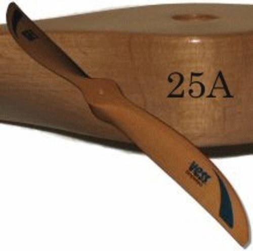 25A wood propeller