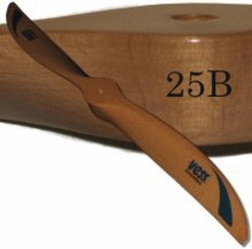 25B wood propeller