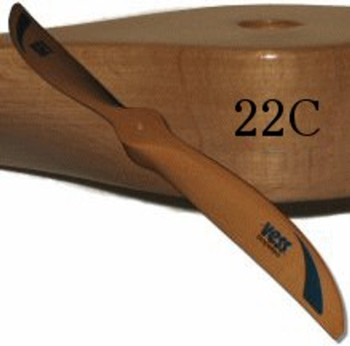 22C wood propeller