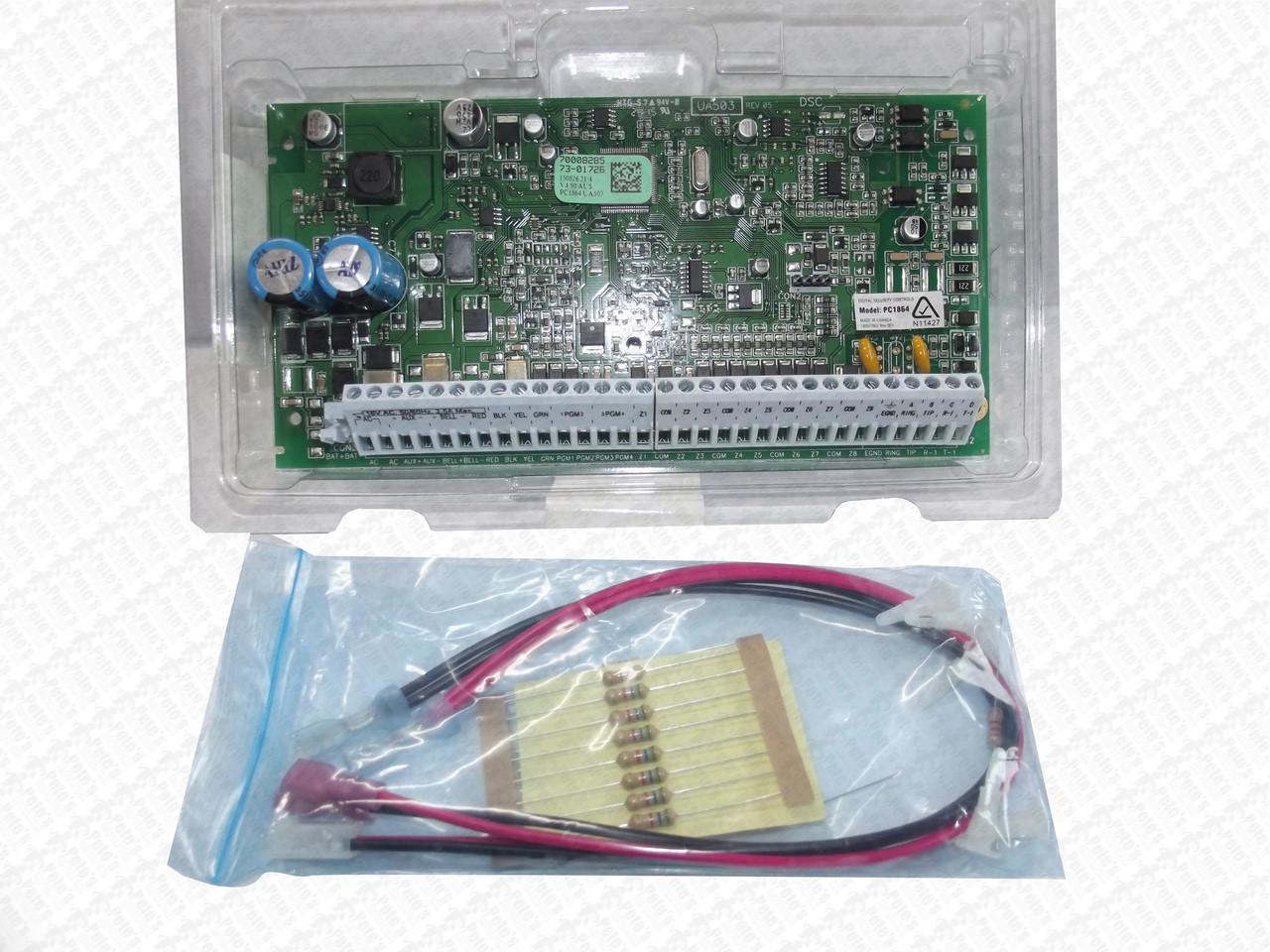 Alarm Panel DSC PC1864PCBAU PCB v4 5 Only - Pete's Bargain Centre