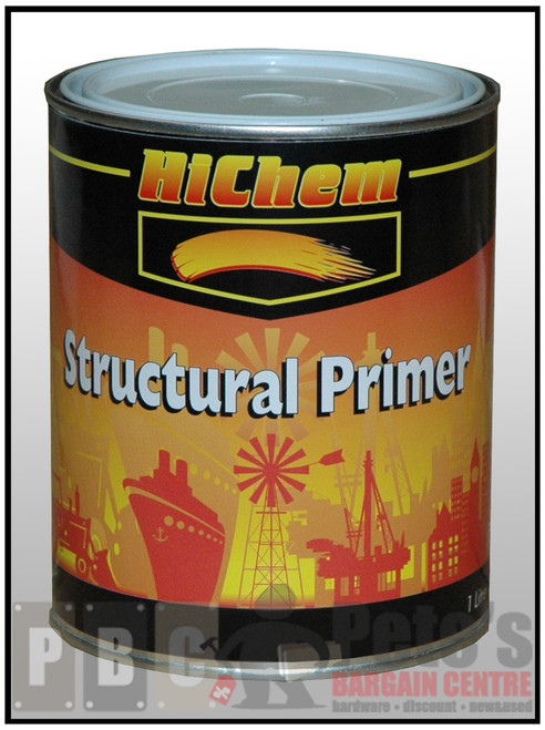 3260 STRUCTURAL PRIMER  Red 1 Litre Can