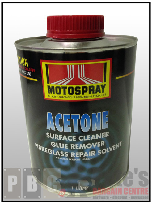 ACETONE   1 Litre Can