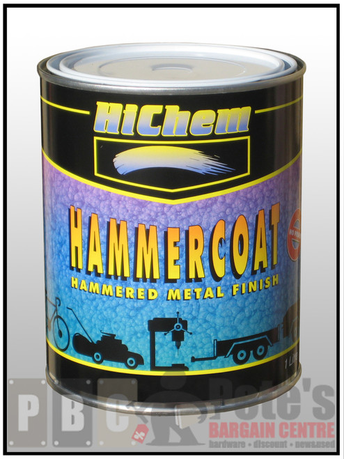 HAMMERCOAT Dark Blue 1 Litre Can