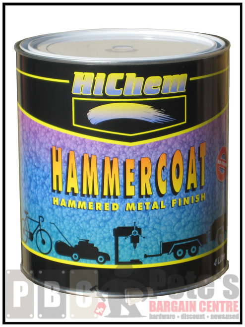 HAMMERCOAT Silver Grey 4 Litre Can