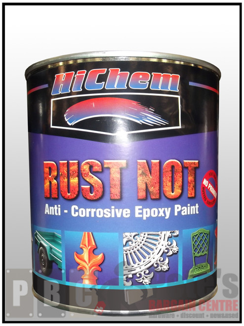 RUST NOT 1 Litre Can White