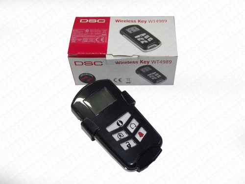 DSC WT4989 Alarm Security Wireless Remote Control Key with LCD Display