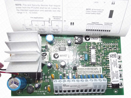 DSC - PC5204 1a @ 12VDC Power Supply w/4 output